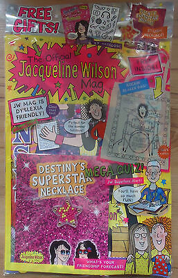 The Official Jacqueline Wilson Magazine #108 Sealed With Lots Free Gifts