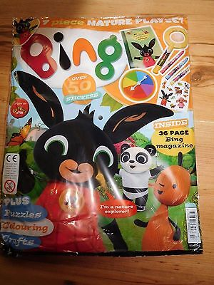 Bing C Beebies Magazine Issue 3 Oct 2016 With Free Gifts