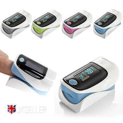Finger Fingertip Blood Oxygen Meter Pulse Heart Rate Monitor Oximeter SPO2 OLED