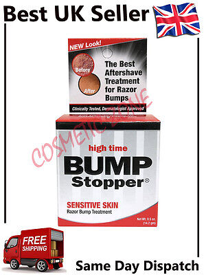 High Time Bump Stopper Treatment For Sensitive Skin Razor Bumps Ingrown Hairs