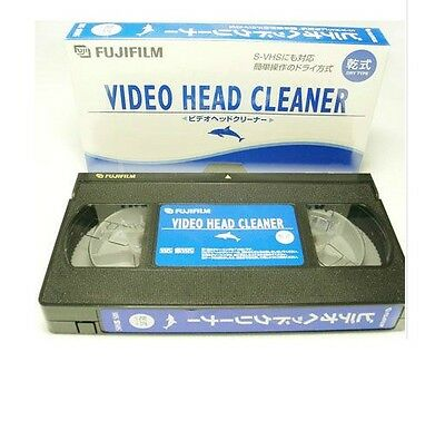 FUJIFILM Video Head Cleaner (VHS / SVHS) NEW