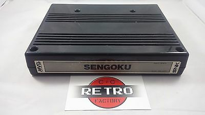 Sengoku Neo Geo MVS Arcade Cart Tested & Working