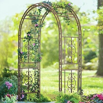 Garden Arch Arbor Trellis Wood Yard Wedding Prom Party Yard