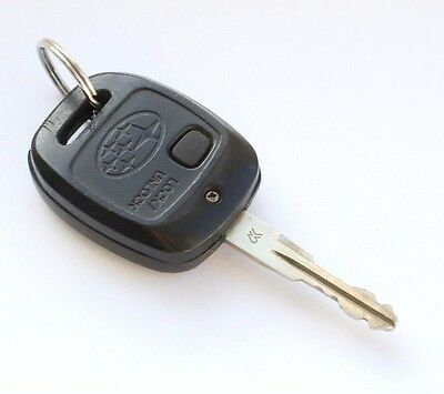 GENUINE SUBARU FORESTER  LEGACY IMPREZA  1 BUTTON REMOTE ALARM KEY FOB 433mhz