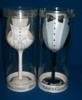 Bride and Groom wedding toasting wine glasses  Beautiful Bride and Mr. Right
