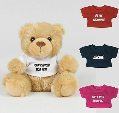 Premium Personalised Teddy Bear Mum Dad Gift Birthday Present New Dad Custom New