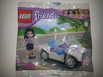 "Lego  Friends 30103 "" Emma's Car "" . Very rare set. New and sealed"
