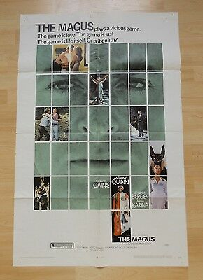 Michael Caine - THE MAGUS - 1968 original one sheet US movie poster John Fowles