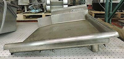 Used Stainless Steel Table For Dishwasher