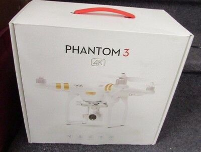 DJI Phantom 3 4K Quadcopter Drone with 4K Camera and 3-Axis Gimbal BRAND NEW