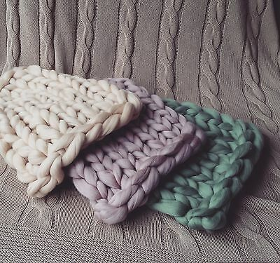 Blanket Set Merino Blanket Newborn Photography Prop Baby Posing Blanket UK