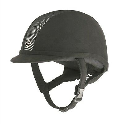 NEW Charles Owen AYR8 Peaked Riding Hat - 54cm-61cm - RRP £195.00