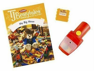 RARE! Hasbro Playskool T.J. Bearytales - My Big Mess