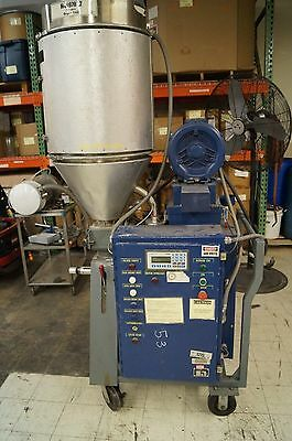 Comet Plastic Material Dryer With Insulated Hopper