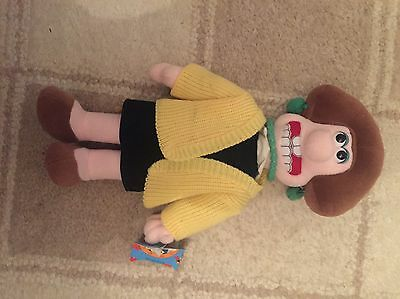 "wallace and gromit Soft Toy Wendolene 14"" Tall Collectors"
