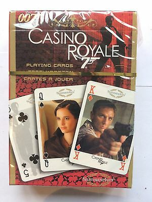 James Bond 007 Playing Cards Casino Royale Daniel Craig Sunseeker New Sealed