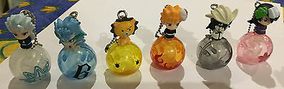 Bleach anime figure collection with bells (set of 6)