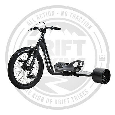 Drift Trike - TRIAD - New 2017 Model - Black Grey - Underworld 3