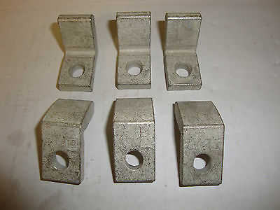 (6) New Square D 50005-120-02 Dc Contactor Fingertip Contacts