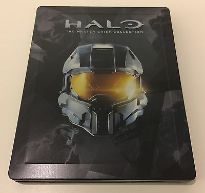 Halo Master Chief Collection Limited Edition Steelbook Case - NO GAME - New