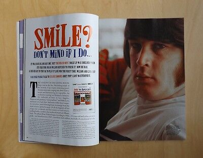 MOJO Magazine 124 with SMiLE Brian Wilson cover/in depth feature from 2004 EX