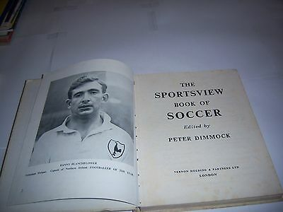 The Sportsview Book Of Soccer #1 - 1957/58 - Manchester United - Football Annual