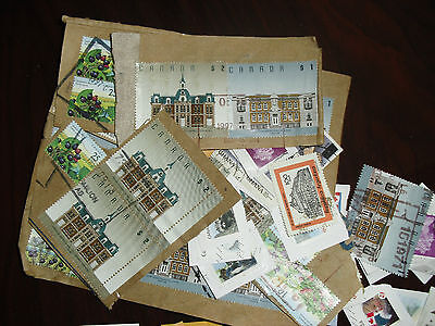 Lot Stamps on paper worldwide over 300 Phillately collectors lote Sellos postal