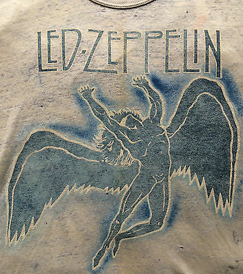 Vintage 1970s Led Zeppelin T-shirt NYC