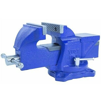"Yost Vises BV-4, 4"" Utility Bench Vice with Swivel Base, Engineer, Workshop, DIY"