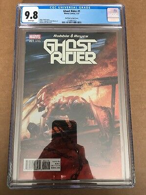 ROBBIE REYES GHOST RIDER #1 (2017) CGC 9.8 (NM+/M) Dell Otto Variant 1st Print