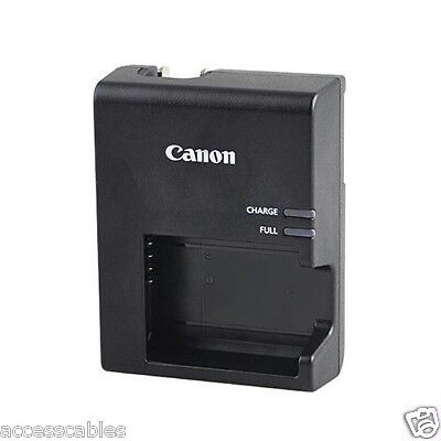 Genuine Canon LC-E10 LCE10 Charger for the LP-E10 LPE10 Battery, Fold out plug