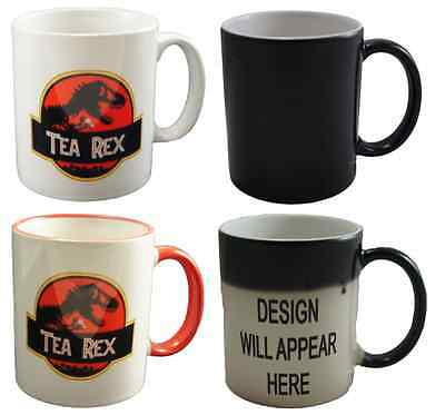Tea Rex Dinosaur Novelty Coffee Tea Mug Cup Gift Jurassic Park Inspired Movie