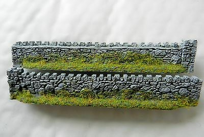 Urban Walling Japw4 ~ Scenery For Model Railway Oo / Ho Scale, New