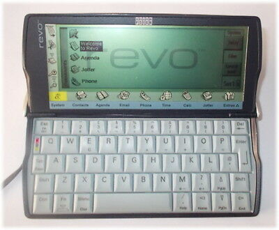 Vintage Psion Revo 8MB Organiser PDA with manual