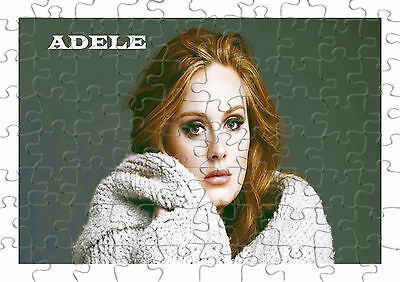 Adele Puzzle 120 piece jigsaw great gift can be personalised if required