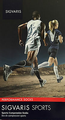 SIGVARIS 412C Performance SPORTS/RUNNING Compression Socks - 20-30mmHg - Unisex