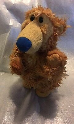 "14"" Singing Dancing Bear From Bear In The Big Blue House Sings Cha Cha Cha Vgc"