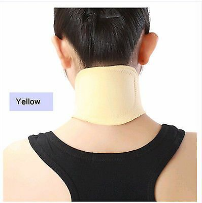 Shoulder Neck Pain Relief, Self Heat Magnetic Therapy Neck Brace, Dad Mum's Gift