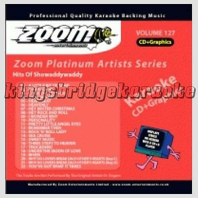 Zoom Platinum Artists CDG/CD+G Vol 127 - Showaddywaddy