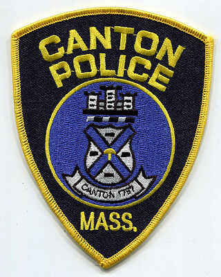 Canton Massachusetts Police Patch