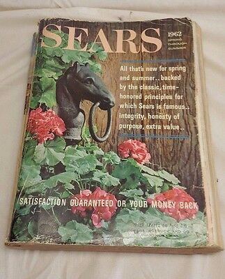 Vintage 1962 Sears Roebuck And Co. Spring Summer Catalog Boat Motors Fans Cool