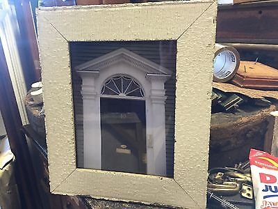 Professional photographers ART - framed photo architecture salvaged wood frame E