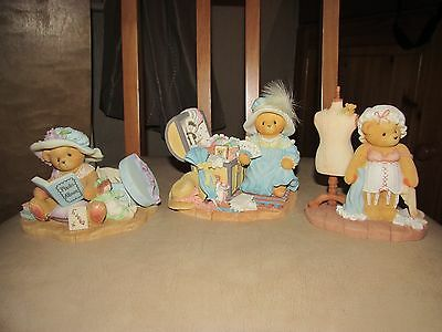 "CHERISHED TEDDIES Set ""UP IN THE ATTIC"""
