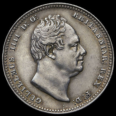 1834 William IV Milled Silver Shilling