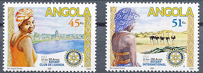Angola - 2005 - Rotary International / 100 Anos - Mnh / ( ** )