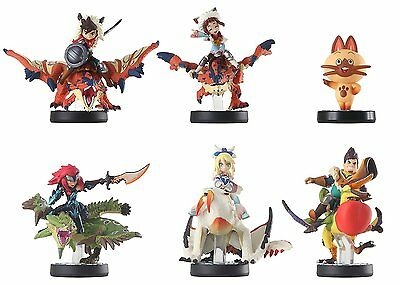 Amiibo Monster Hunter Barioth Rathia Cheval Rathalos Rider boy Girl Navirou