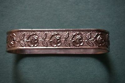 S. Kirk & Son Inc. Sterling Silver Repousse Napkin Ring