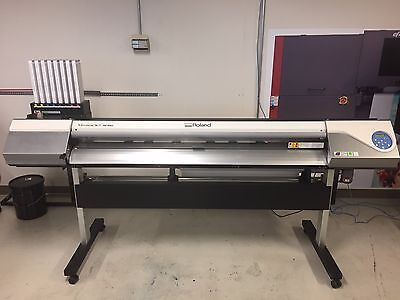 "Roland VersaArt RE-640 64"" EcoSol InkJet Wide Format Printer 1 Owner"