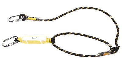High Quality Fall Arrest Single Adjustable Rope Lanyard - 2M