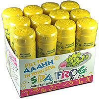 Spa Frog Bromine cartridge ***12 pack*** PRIORITY MAIL SHIPPING